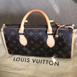 Louis Vuitton triangle popincourt bag authentic